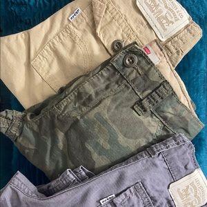 Levi's kids cargo shorts